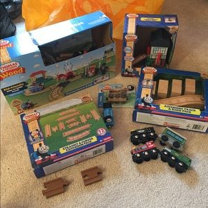 Pre-loved Thomas the Train wooden LOT used